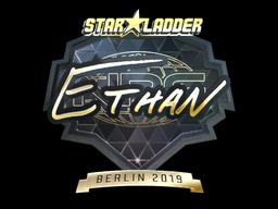 Sticker | Ethan (Gold) | Berlin 2019