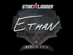 Наклейка   Ethan   Берлин 2019