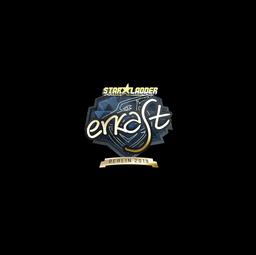 Sticker | erkaSt (Gold) | Berlin 2019