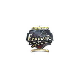 Sticker | EspiranTo (Gold) | Berlin 2019