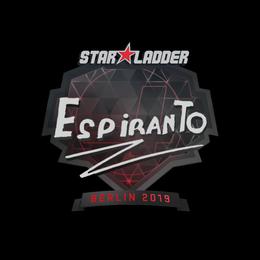 EspiranTo | Berlin 2019