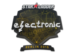 Sticker | electronic | Berlin 2019