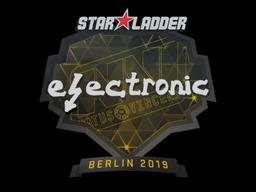 Наклейка | electronic | Берлин 2019