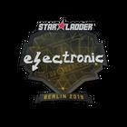 Sticker | electronic | Berlin 2019
