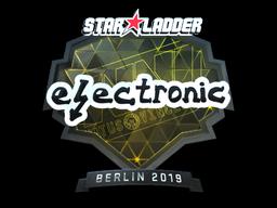 Sticker | electronic (Foil) | Berlin 2019