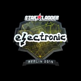 electronic (Foil) | Berlin 2019