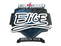 Sticker | EliGE (Foil) | Berlin 2019