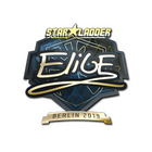 Sticker | EliGE (Gold) | Berlin 2019