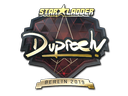 Sticker | dupreeh (Gold) | Berlin 2019