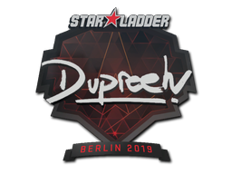 Sticker | dupreeh | Berlin 2019