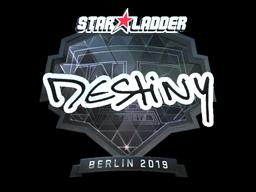 Sticker | DeStiNy (Foil) | Berlin 2019