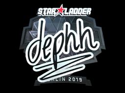 Sticker | dephh (Foil) | Berlin 2019