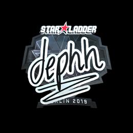 dephh (Foil) | Berlin 2019