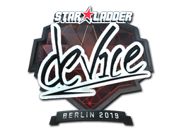 Sticker | device (Foil) | Berlin 2019