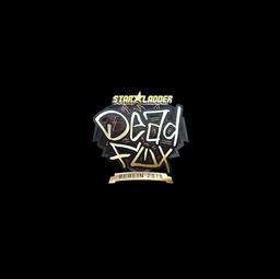 Sticker | DeadFox (Gold) | Berlin 2019