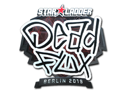 Sticker | DeadFox (Foil) | Berlin 2019