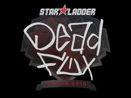 Sticker | DeadFox | Berlin 2019