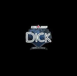 Sticker | DickStacy (Foil) | Berlin 2019