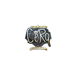 Sticker | CeRq (Gold) | Berlin 2019