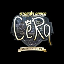 CeRq (Gold) | Berlin 2019