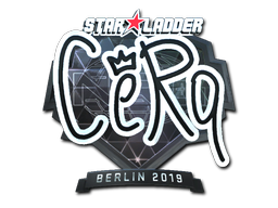 Sticker | CeRq (Foil) | Berlin 2019