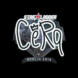 CeRq (Foil) | Berlin 2019