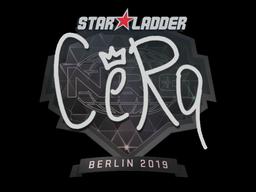 Sticker | CeRq | Berlin 2019