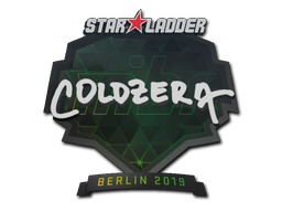 Sticker | coldzera | Berlin 2019