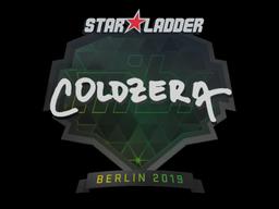 Sticker | coldzera | Berlin 2019