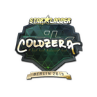 Sticker | coldzera (Gold) | Berlin 2019