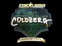 Sticker | coldzera (Gold) | Berlin 2019