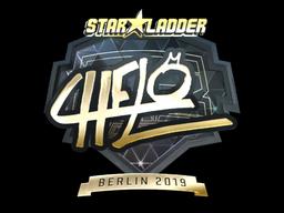 Sticker | chelo (Gold) | Berlin 2019
