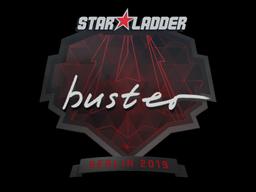 Наклейка | buster | Берлин 2019