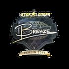 Sticker | Brehze (Gold) | Berlin 2019