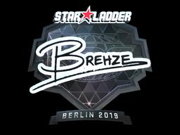 Sticker | Brehze (Foil) | Berlin 2019