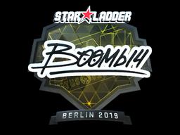 Наклейка | Boombl4 (металлическая) | Берлин 2019