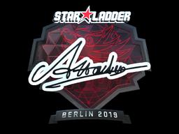 Sticker | Attacker (Foil) | Berlin 2019