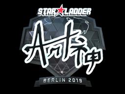 Sticker | arT (Foil) | Berlin 2019
