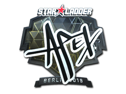 Sticker | apEX (Foil) | Berlin 2019