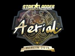 Sticker | Aerial (Gold) | Berlin 2019