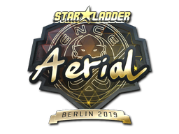 Sticker | Aerial (Gold) | Berlin 2019