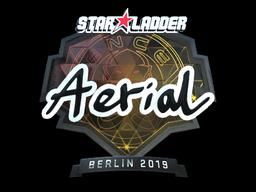 Наклейка | Aerial (металлическая) | Берлин 2019