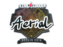 Sticker | Aerial (Foil) | Berlin 2019