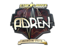 Sticker | AdreN (Gold) | Berlin 2019