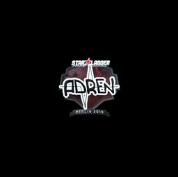 Sticker   AdreN (Foil)   Berlin 2019
