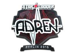 Sticker | AdreN (Foil) | Berlin 2019