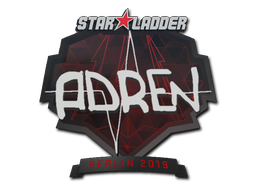 Наклейка | AdreN | Берлин 2019