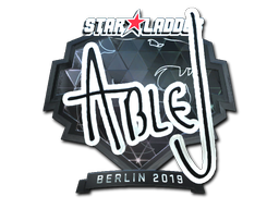 Sticker | ableJ (Foil) | Berlin 2019