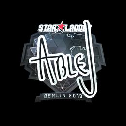 ableJ (Foil) | Berlin 2019