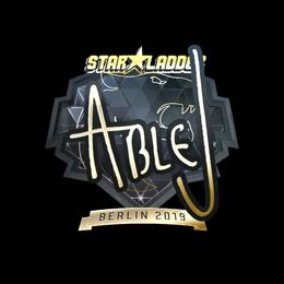 ableJ (Gold) | Berlin 2019